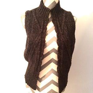 5 For $15 J. Jill Brown Sweater Vest